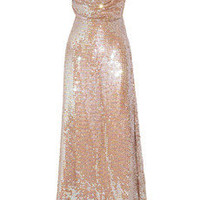 Vivienne Westwood Gold Label | Long Savannah sequined net gown | NET-A-PORTER.COM