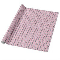Pink Martini - Customizable monogram gift wrap