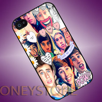 Nash Grier - Photo Print for iPhone 4/4s, iPhone 5/5C, Samsung S3 i9300, Samsung S4 i9500 Hard Case