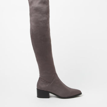 Steve Madden Gabriana Faux Suede Over-The-Knee Boots at PacSun.com