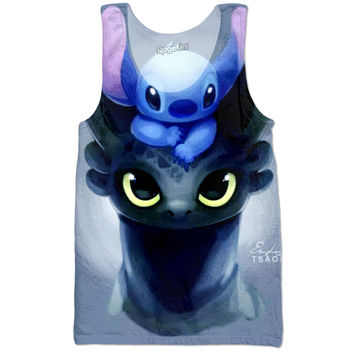 Stich and toothless