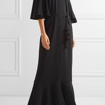 Rachel Zoe - Lyon embellished stretch-crepe gown