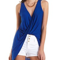 Twisted Hem High-Low Tank Top by Charlotte Russe
