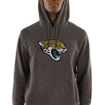 ICIKG8Q NFL Jacksonville Jaguars Majestic Men's Gameday Classic Pullover