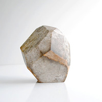 Quartzite Beauty-Small Decorative Sculpture-Geometric Design Home Decor-Hand Carved Paper Weight-Office Home Decor-Unique Gift-Modern Decort