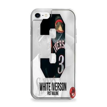 Post Malone White Iverson iPhone 7 | iPhone 7 Plus Case