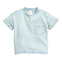 Washed T-shirt - from H&M