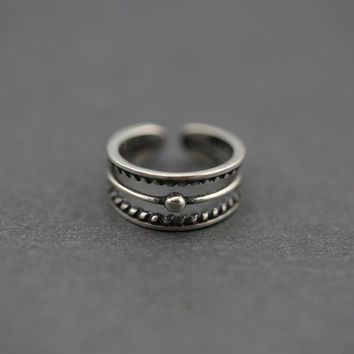 Jewelry New Arrival Shiny Stylish Gift 925 Silver Simple Design Korean Accessory Ring [8380585223]