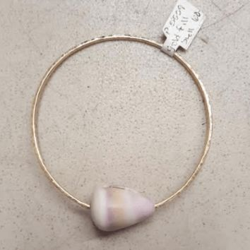 Gold Filled Bracelet with Seashell