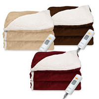 Sherpa Electric Heated Throw Blanket