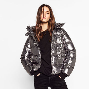 SHORT METALLIC JACKET