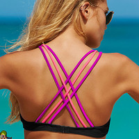 Strappy Scoopneck Top - PINK - Victoria's Secret