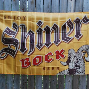 Shiner Bock Flag