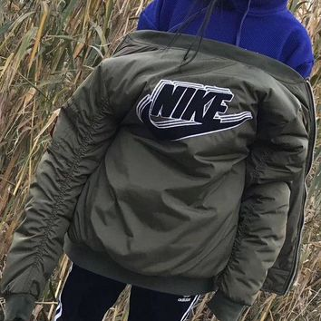 LMFOK3 Nike Fashion Women/Men Trending Bomber Jacket