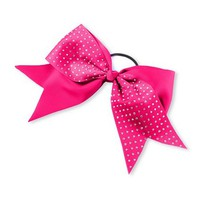 Crystal Studded Cheer Bow  | Claire's