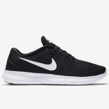 Nike Free Run Women Men Black Running shoes Sport Popular Sneakers  Shoes  I-FEU-SY