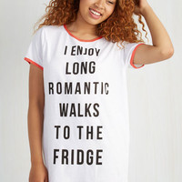 Mink Pink Sayings Short Sleeves Love At First Bite Nightgown