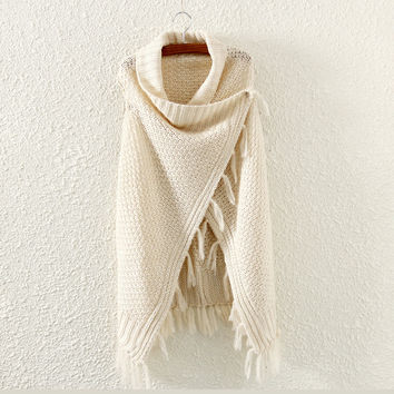 Sweater Scarf Autumn Cardigan Jacket [9017735748]