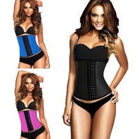 Women's Three Breasted Tight Corset Body Shaper Waist Clincher Waist Trainer