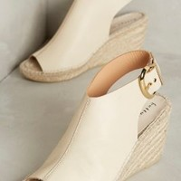Bettye Muller Dresser Wedges in Neutral Size: