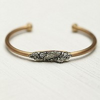 Marly Moretti  Pyrite and Stones Cuff at Free People Clothing Boutique