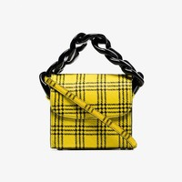 Tartan Chain Pony Hair Mini Bag