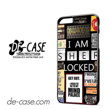 Sherlock Holmes Wallpaper Bbc DEAL-9564 Apple Phonecase Cover For Iphone 6/ 6S Plus