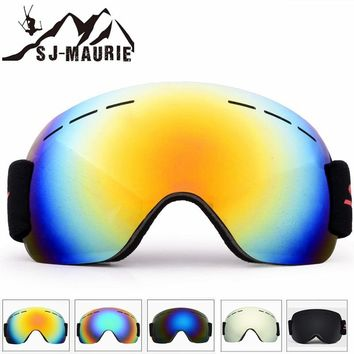 Unisex Ski Goggles Snowboard Mask Outdoor Windproof Skiing Eyewear Large Frame Snowboarding Goggles for Men Women Ski Glasses
