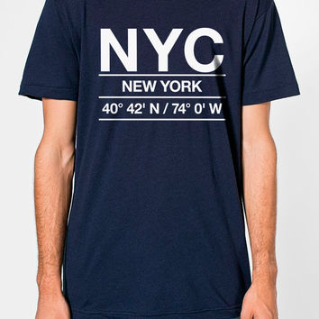 NYC Airport Shirt Men's