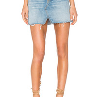 GRLFRND x REVOLVE Milla Denim Mini Skirt in Zappa