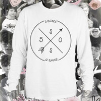 5 Seconds of Summer 5SOS Logo Long Sleeved Tshirt