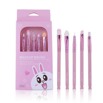 Kawaii Bunny Makeup Brush Set