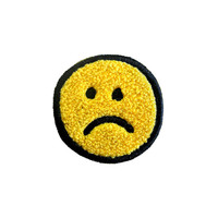 Frown Chenille Patch