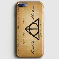 Harry Potter With Tribal Print iPhone 7 Plus Case
