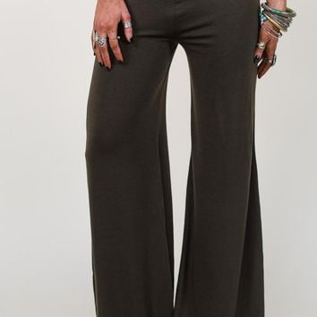 Live In These Palazzo Pants - Olive