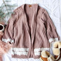Spool Lux Knit + Lace Sweater