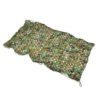 Outdoor Jungle Camouflage Cover Car Drop Net Woodland Leaves Camo Camping Net/Military Caouflage Net Survival Net 1MX2M