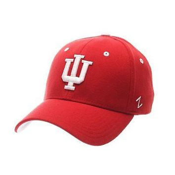 official photos ca893 50650 Licensed Indiana Hoosiers Official NCAA ZH Large Hat Cap by Zeph