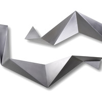 C. Jeré, Origami  (Set of 2), Wall Sculptures