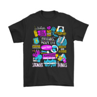 QIYIF Stranger Things Dustin She's Our Friend And She's Crazy Shirts