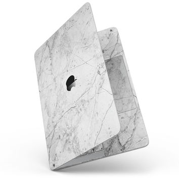 """Cracked Marble Surface - 13"""" MacBook Pro without Touch Bar Skin Kit"""