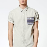 Izar Short Sleeve Button Up Shirt
