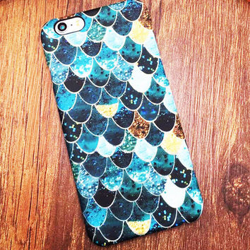 Anti-skid Scale Pattern iPhone 5s 5se 6 6s Plus Cover Case + Gift Box 370