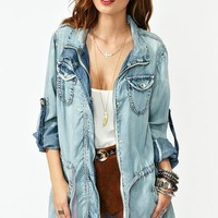 Denim Daze Anorak in What's New at Nasty Gal