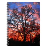 FIRE WATER SKY NOTEBOOK