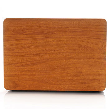 Apple Macbook Hard Wood Texture Protective Case | FREE SHIPPING