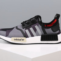 Adidas NMD Boost Women Men Camouflage Running Sport Casual Shoes Sneakers