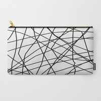 paucina v.3 Carry-All Pouch by Trebam | Society6