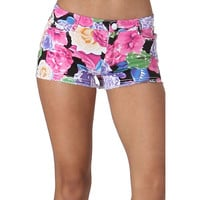 Oh My Julian Womens Ashlee Floral Print Casual Shorts