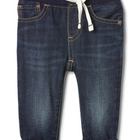 My first lined straight jeans|gap